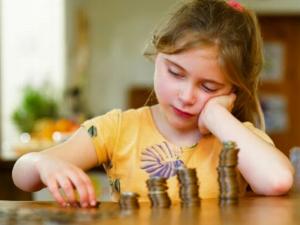 Как начисляют алименты на ребенка