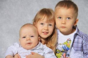 Алименты на трех детей, расчет