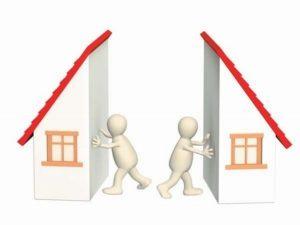Раздел имущества при разводе, ситуация